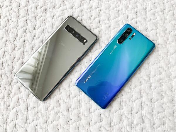 価格差はやばいけど。「Galaxy S10 5G」に対して「Huawei P30 Pro」も負けていない。