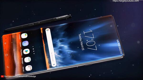より「湾曲」した「ディスプレイ」を。「Galaxy Note10」の「Edgeスタイル」は今までとちょっと違うみたい。