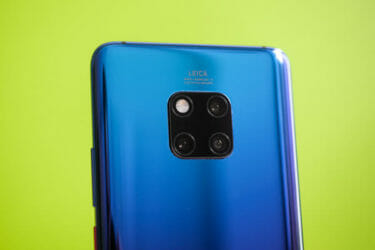 「Huawei Mate 20 Pro」。「Android10」配信開始