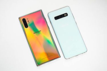 「Galaxy S10+/Note10+」。Android10アップデートでも「独自/標準ジェスチャー」が共存に