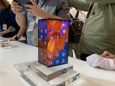 超高級「Huawei Mate X」単純に「Galaxy Fold」の「2倍」以上人気に?