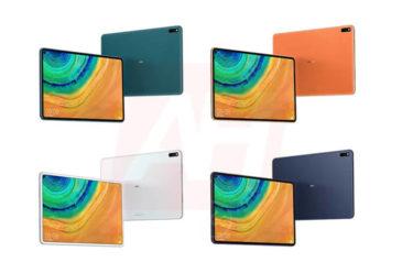 「iPad Pro」のまるパクリ?「Huawei Mate Pad Pro」4色展開でまもなく正式発表
