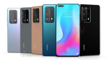 「Huawei P40 Pro」。充電速度は変わらず「40W」の可能性