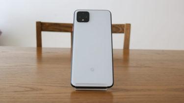 「Google Pixel 4 XL」。バッテリーが原因でバックパネルが外れる不具合