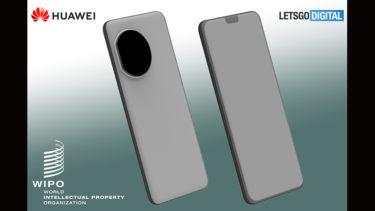 特徴的な「カメラデザイン」を採用。「Huawei Mate 40」のデザインが判明に?