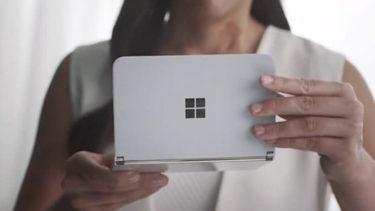 Microsoft「Surface Duo」。8月12日正式発表/8月24日発売の可能性