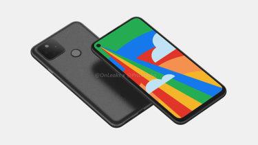 「Google Pixel 5」。ビデオに関する一部新機能が判明に?