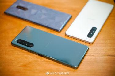 「Xperia 1II」新色「グリーン」がEtorenで発売開始