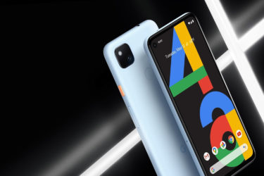 地域/台数限定。「Google Pixel 4a」に新色Barely Blueが追加に