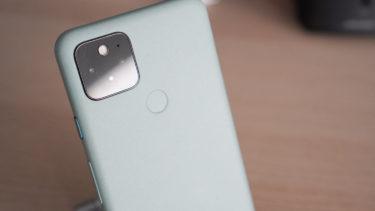 「Google Pixel 5」。各種センサーが無効化されるバグが発生