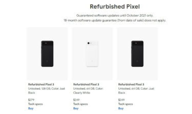 僅か$249で購入可能。「Google Pixel 3」の再生品が数量限定で販売「開始」