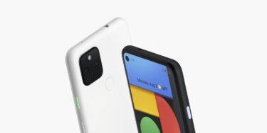 「Google Pixel 4a 5G」新色ホワイトが発売。色違いはやっぱり新鮮